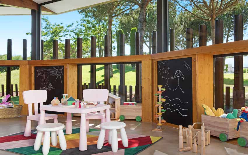 Hotel Camiral's Kids Club with The Little Voyager