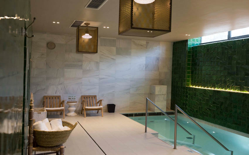 Hotel Camiral's Spa with Indoor Pool with The Little Voyager