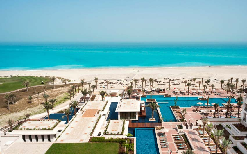 St. Regis Saadiyat Resort's Exterior with The Little Voyager