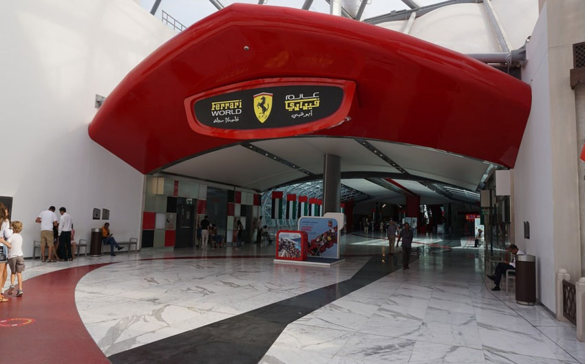 St. Regis Saadiyat Resort's Ferrari World with The Little Voyager