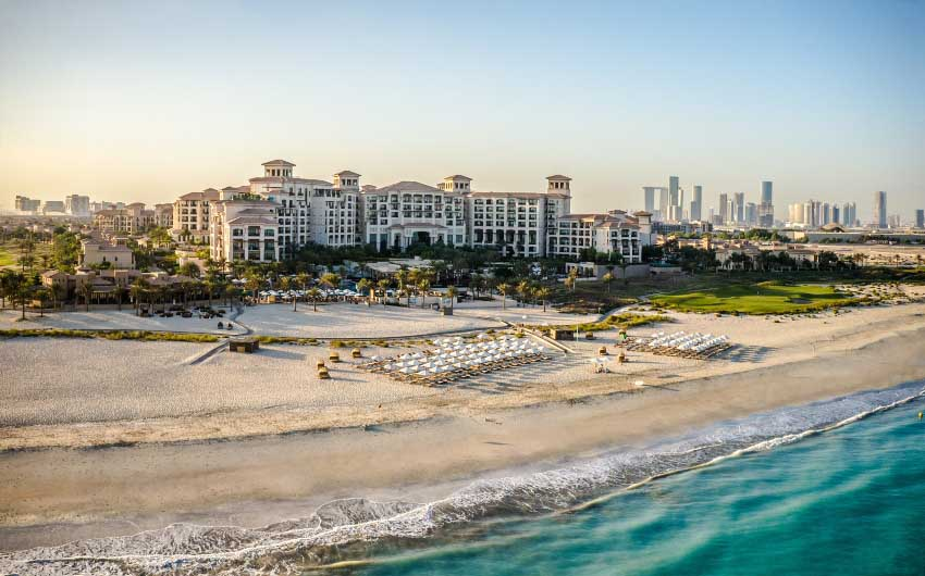 St. Regis Saadiyat Resort with The Little Voyager