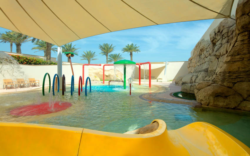 St. Regis Saadiyat Resort's Sandcastle Kids Club Pool with The Little Voyager