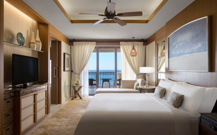 St. Regis Saadiyat Resort Sea View Room with The Little Voyager