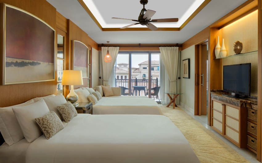 St. Regis Saadiyat Resort's Superior Twin Room with The Little Voyager