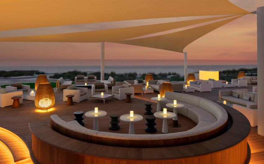 St. Regis Saadiyat Resort's Beach Bar with The Little Voyager
