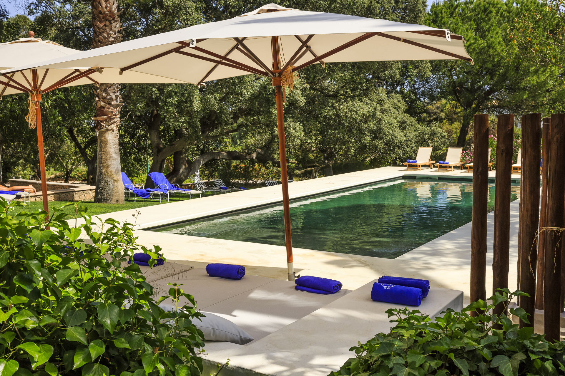Adults only pool at Algarvian Hideaway