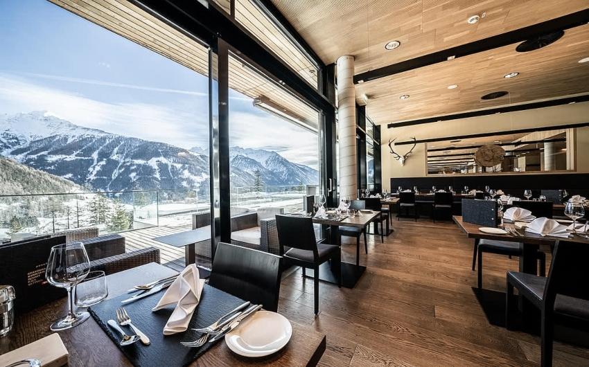 Restaurant of hotel