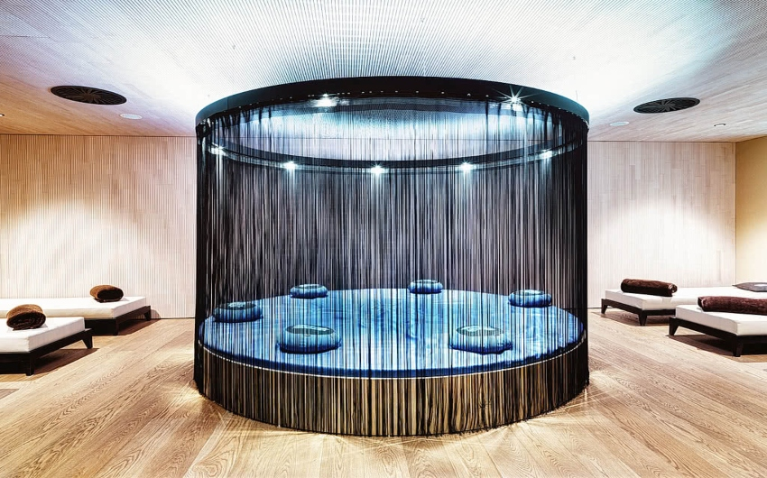 Relaxation area in SPA