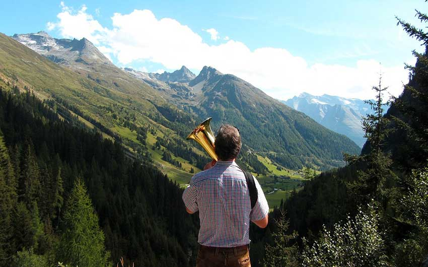 East Tyrol Mountain Tops with The Little Voyager
