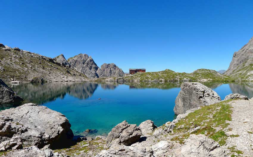 East Tyrol Mountain Pools with The Little Voyager