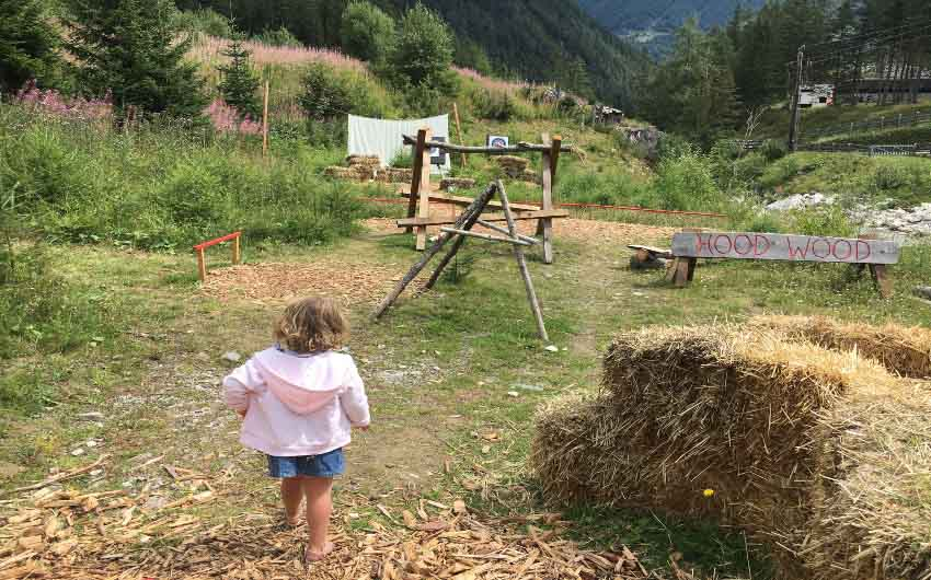 East Tyrol Outdoor Playing Fields with The Little Voyager