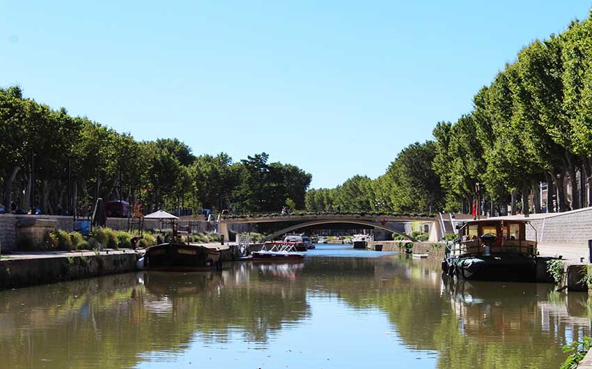 French Wine Estate Narbonne with The Little Voyager