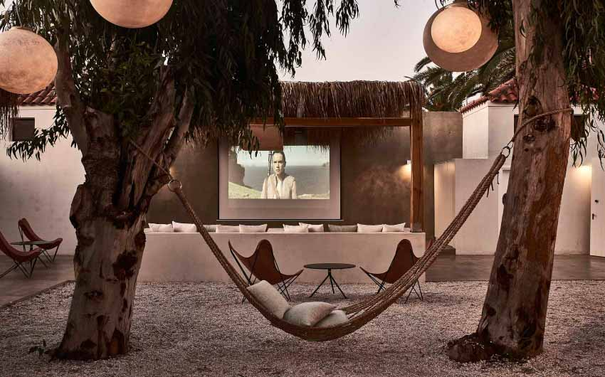 Cretan Nature Resort Home Cinema with The Little Voyager