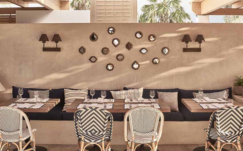 Cretan Nature Resort Restaurant with The Little Voyager