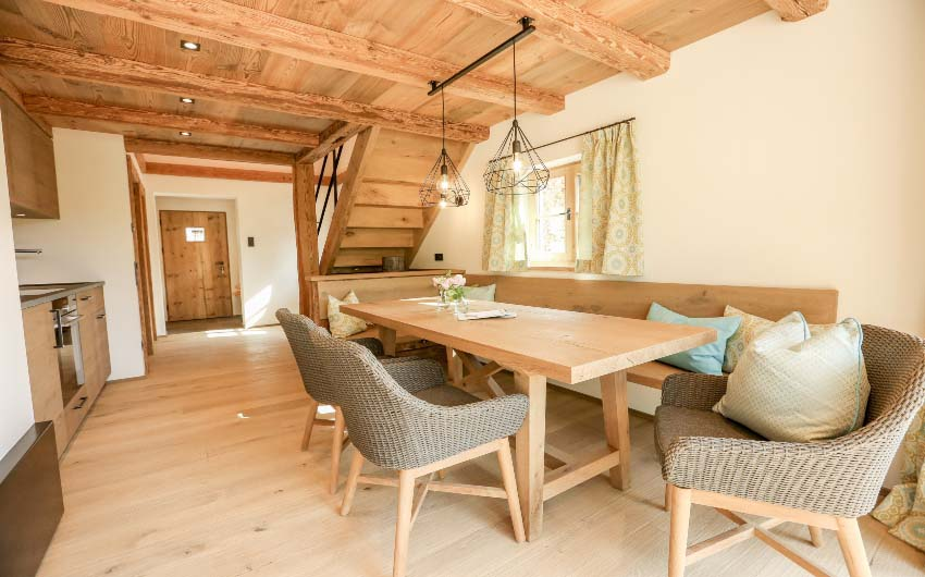 The Bavarian Farm Dining Table with The Little Voyager