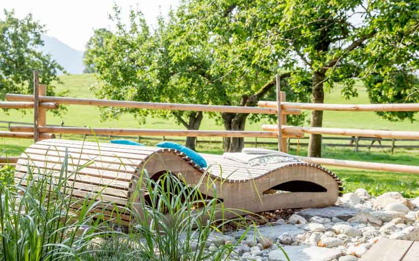 The Bavarian Farm Lounge Chairs with The Little Voyager