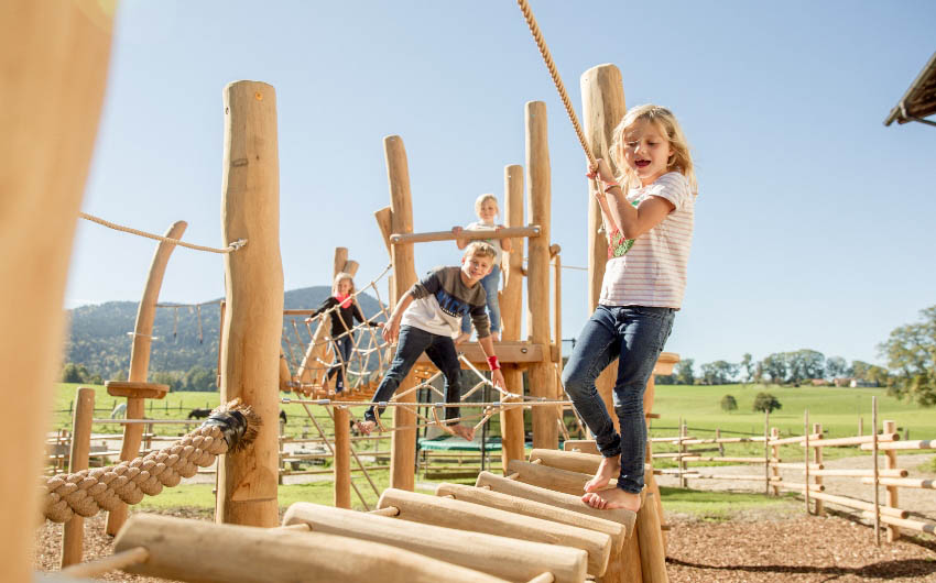 The Bavarian Farm Playground with The Little Voyager