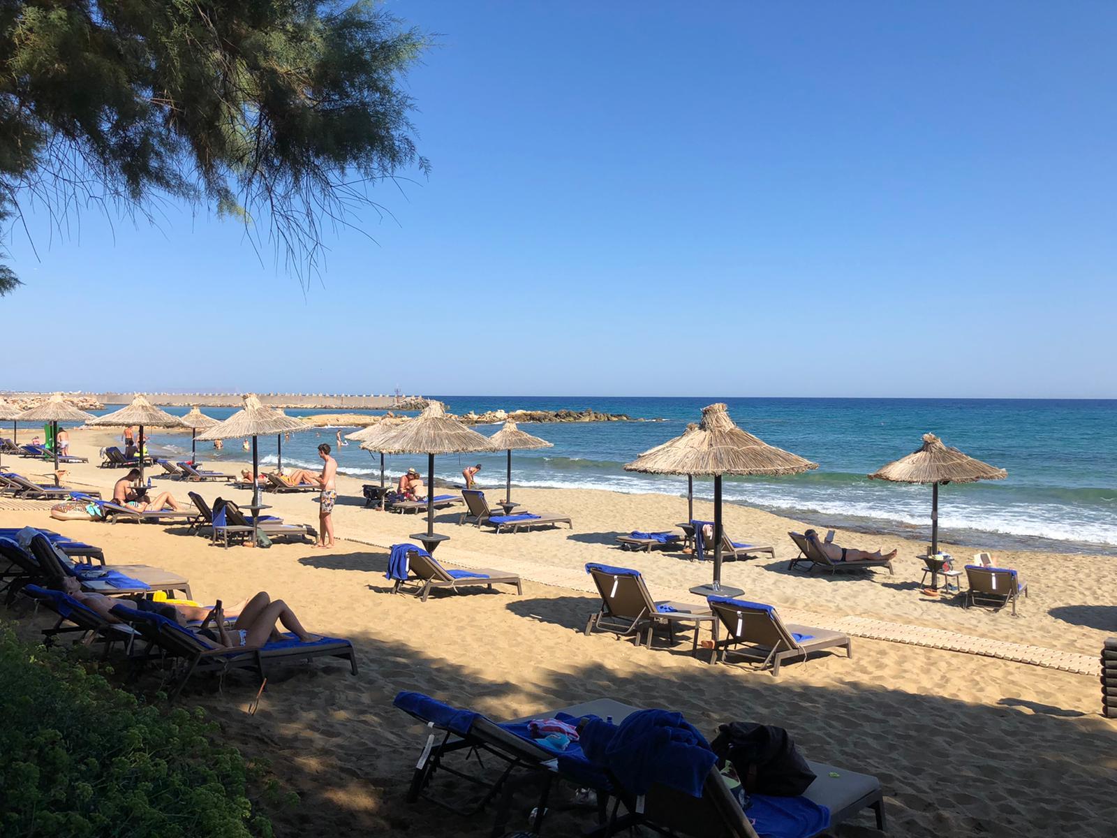 Beach at the Cretan Eco Resort