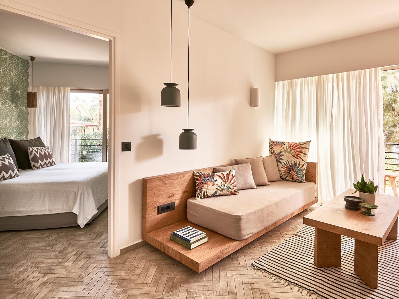 One-bedroom Suite at the Cretan Eco Resort