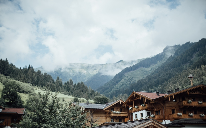 Mountain views at the Austrian Nature Retreat