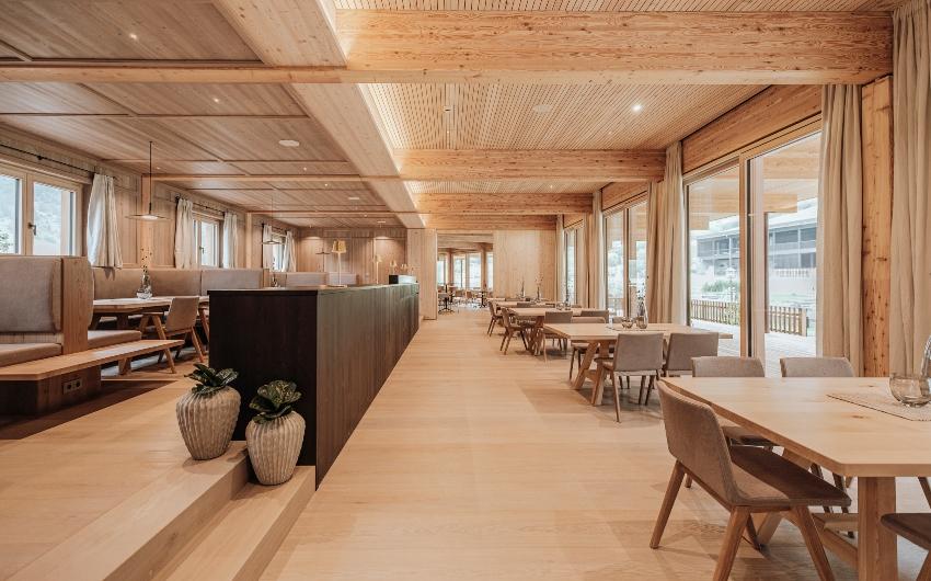 Restaurant at the Austrian Nature Retreat